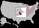 Rhode Island map